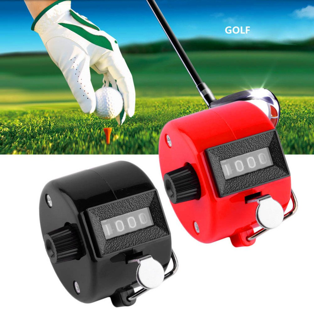 Amazon.com: xbes 4 Dígito Manual Mano Tally Contador Golf ...