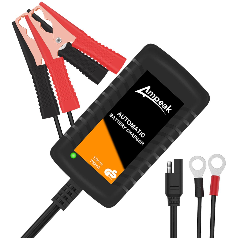 Ampeak Cargador de Baterías, 12V Mantenimiento Automático e ...