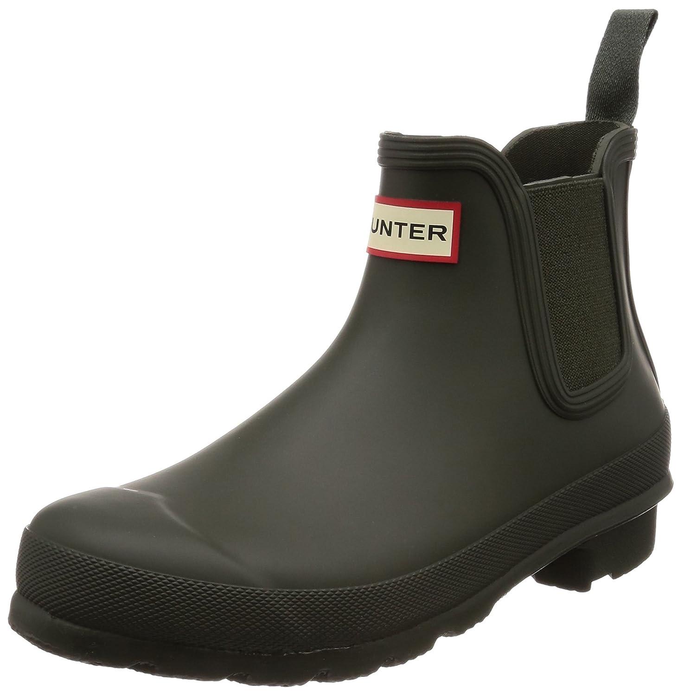 Hunters Boots Men's Original Chelsea Boots B076TXXCVT 9 B(M) US|Dark Olive