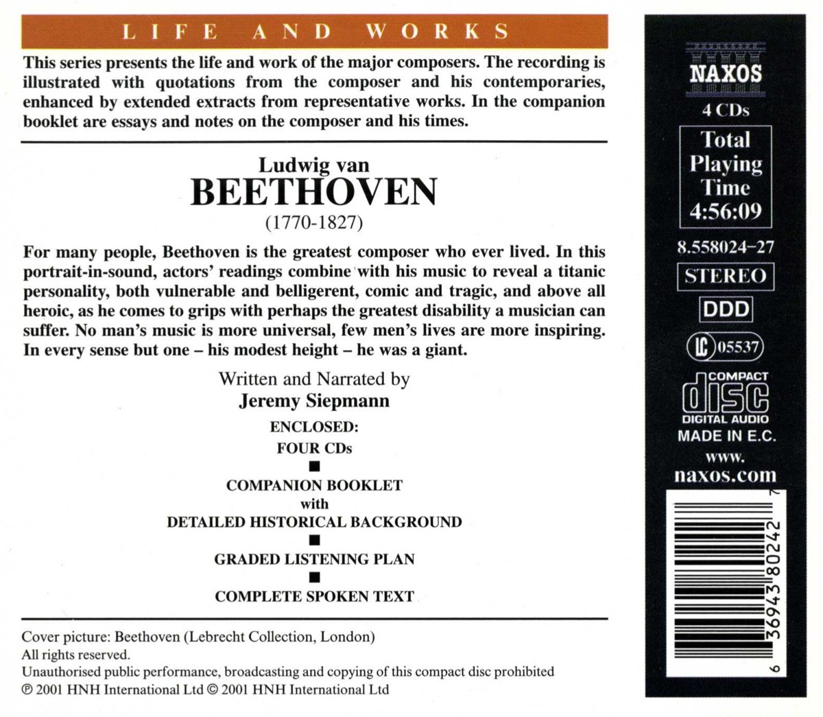 Life & Works of Beethoven by Naxos Educational