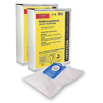 AEG Staubsaugerbeutel S-Bag Filtertüten für Electrolux Gr E 200//202//203//205