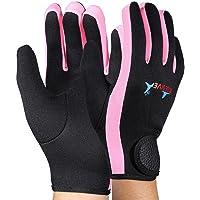 Sanwooden Practical Diving Gloves High Elasticity 1.5Mm Neoprene Winter Sport Swimming Snorkeling Diving Gloves Winter Essential Gloves