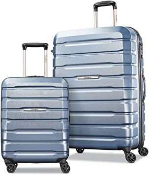 Samsonite TECH TWO 2.0 2-Piece Hardside Set Luggage Gray 27 /& 21