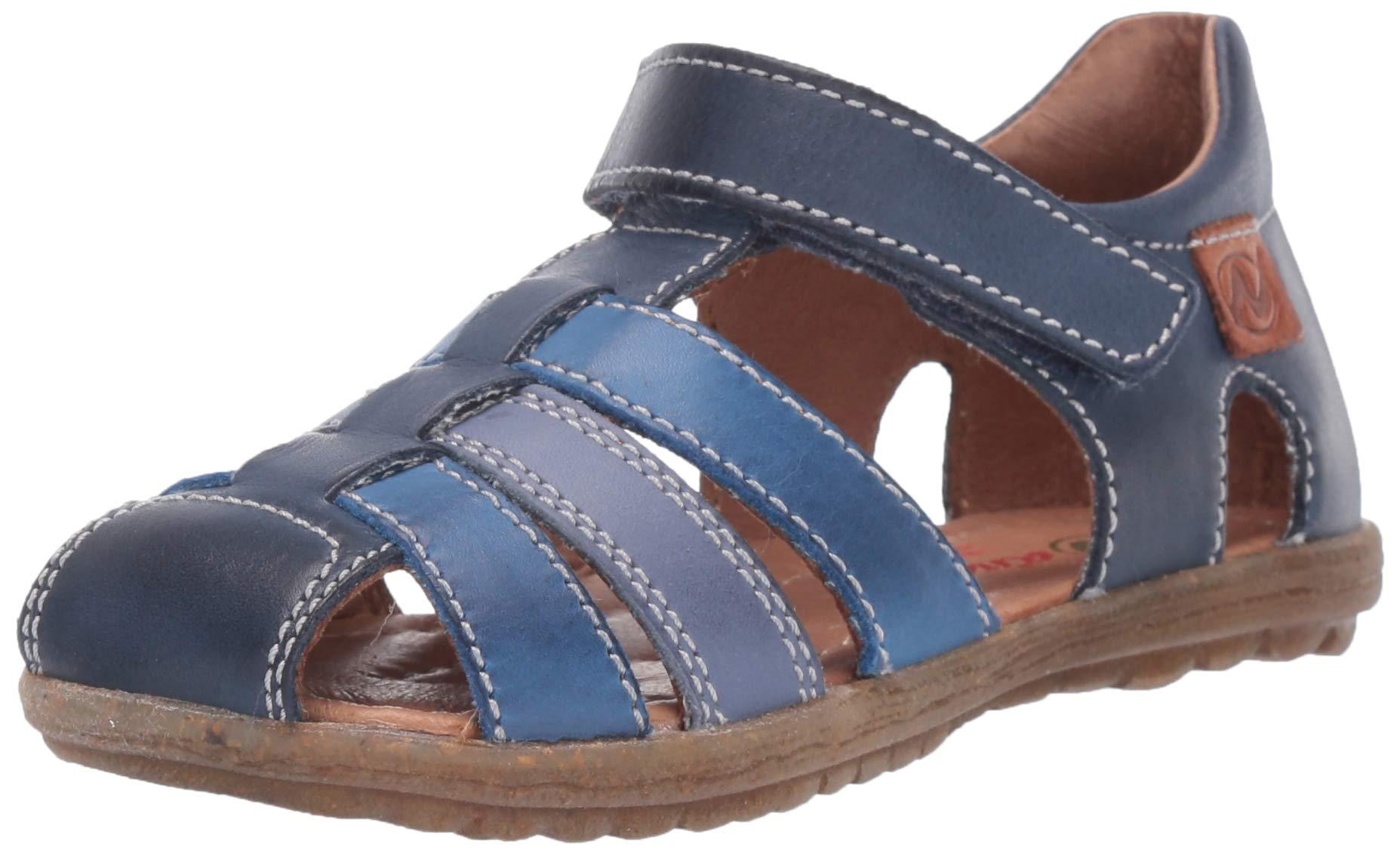 Naturino Boys See Gladiator Sandals, Multicolour (Navy/Azzurro/Celeste 1c53), 7 UK 7UK Child