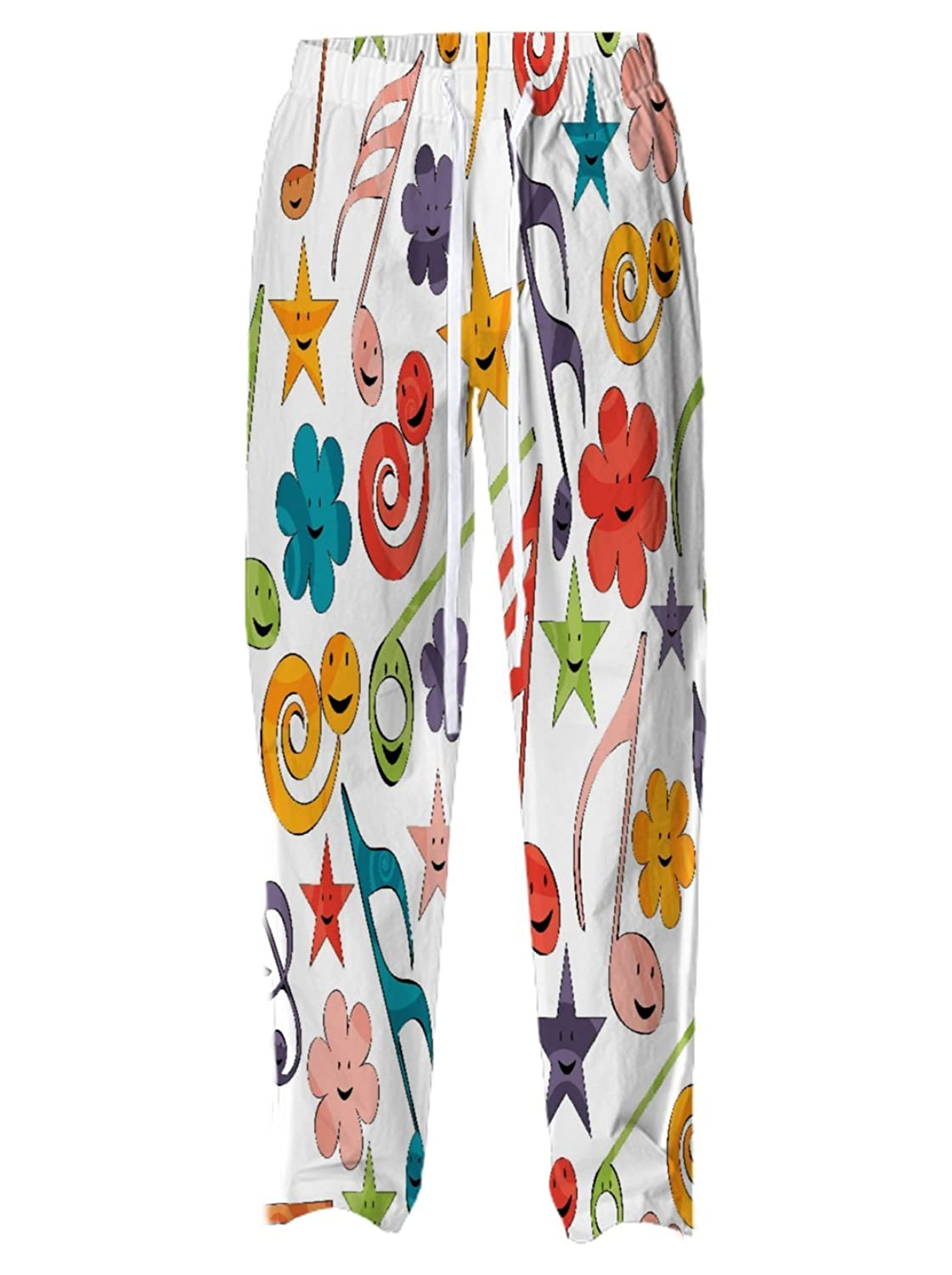 Snoogg Digitally Printed Small to Large Womens Casual Relax Fit Draw String Pants Pyjamas