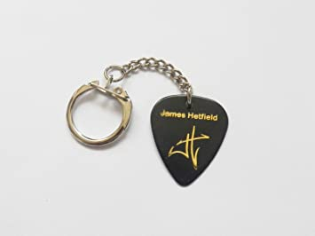 James Hetfield Metallica autógrafo con sello cadena de púas ...