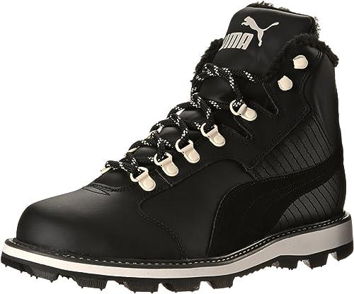 Puma Men's Tatau Fur Winter Boot, Black
