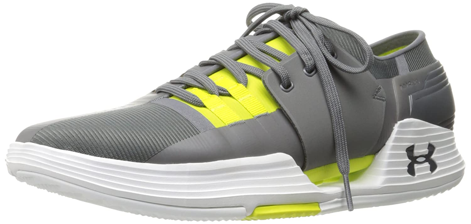 [アンダーアーマー] スピードフォームAMP 2.0(トレーニングシューズ/MEN)[1295773] B01MQW2ZLB 9.5 D(M) US|Graphite/Smash Yellow Graphite/Smash Yellow 9.5 D(M) US