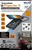 Merlin Portable Smartphone Projector + Battery Pack - Turn any smartphone into a projector