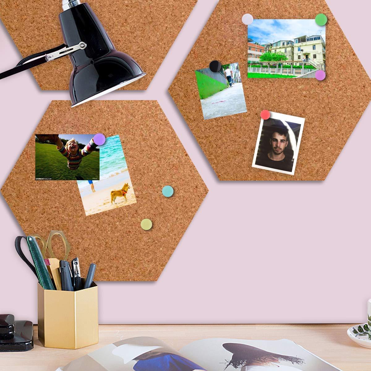 photos Lot de 300 punaises rondes color/ées pour bureau Bulletin et tableaux en li/ège carte murale
