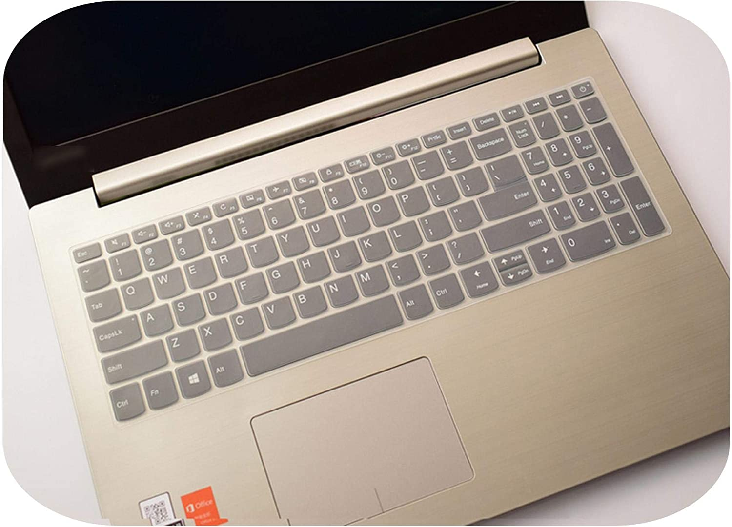 Laptop Clear Silicone Keyboard Cover Protector for Lenovo Ideapad 720 15//720S 15//320 15//320S 15//520 15//V330 15//V130 15//330S 15-Transparent