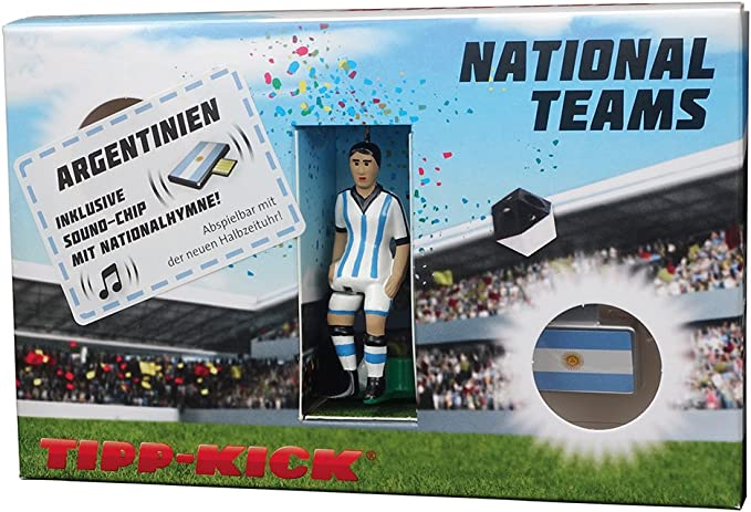 Mieg TIPP Kick Star-Kicker Argentinien INKL. Torwandbox und Soundchip: Amazon.es: Juguetes y juegos