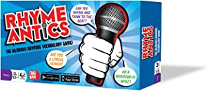 Rhyme Antics-The Hilarious Rhyming Vocabulary Game!