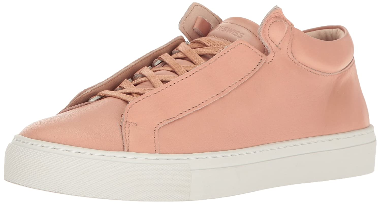 K-Swiss Women's Novo Demi Fashion Sneaker B01K8U94LW 6.5 M US|Cream Tan/Off White