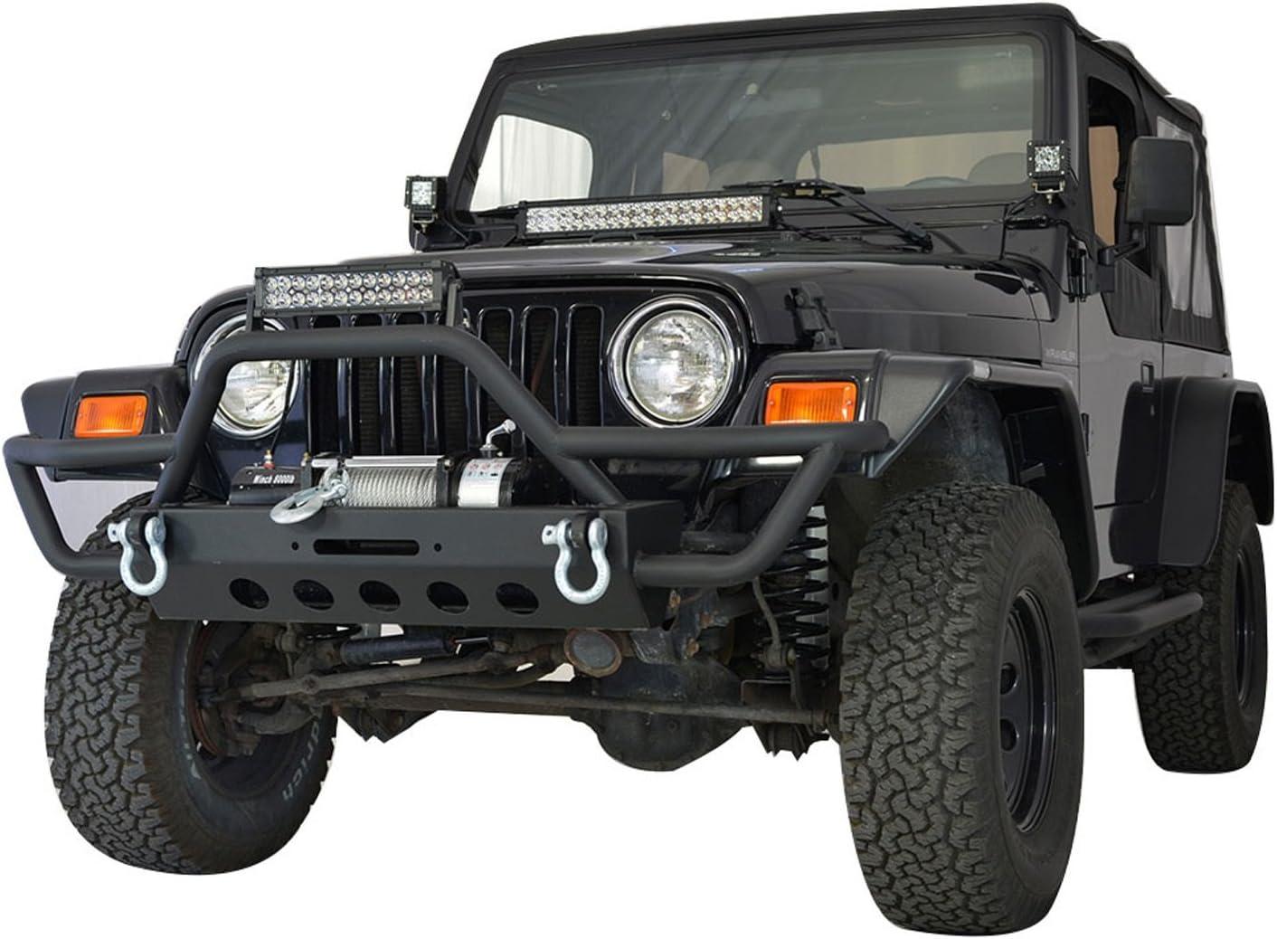 Paramount Automotive 17192 Black Flat-Style Flare 4 Piece