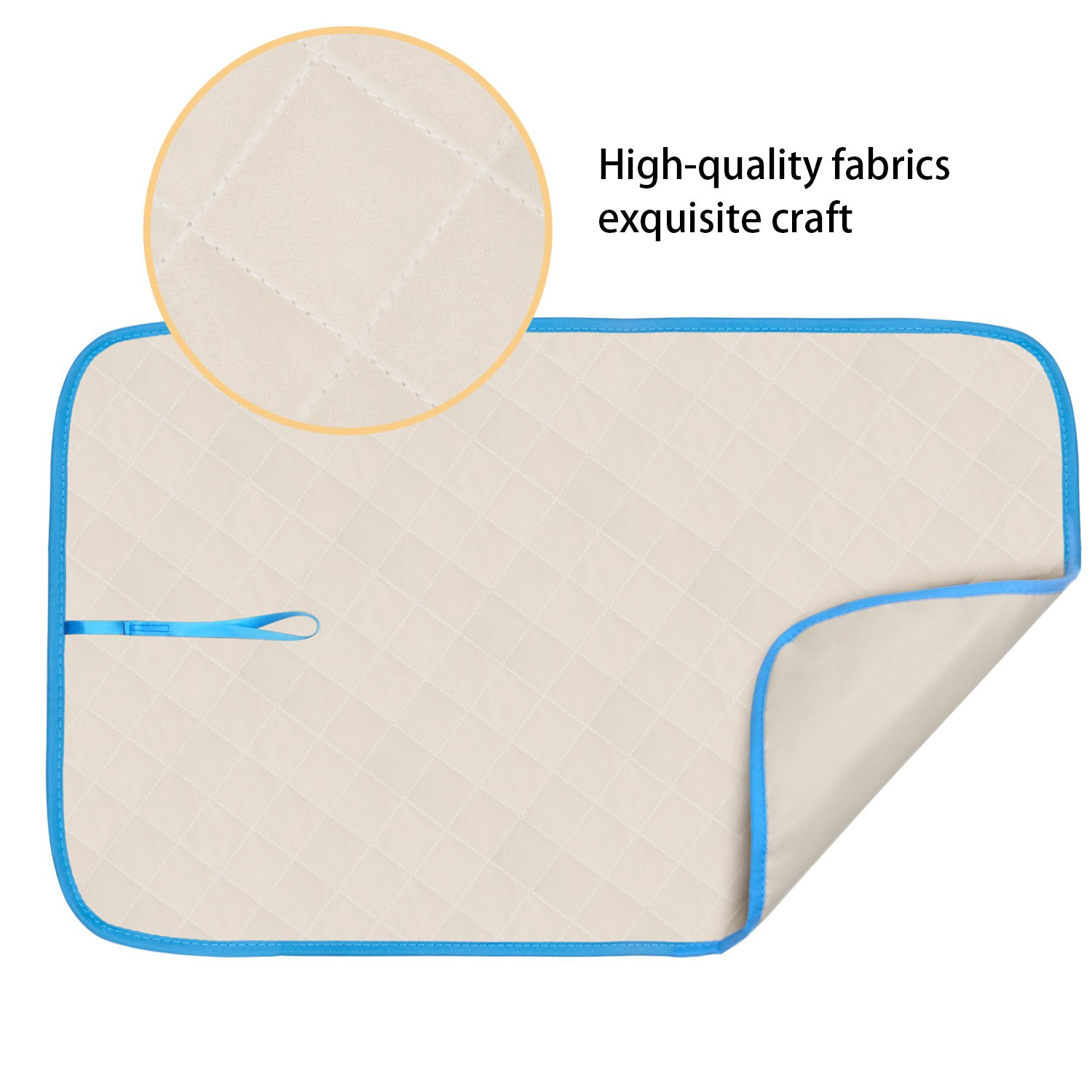 Portable Travel Ironing Pad,Ironing Board Replacement XGuan Ironing Blanket Ironing Mat Iron Board Alternative for Cover Table Top 18/×33 in
