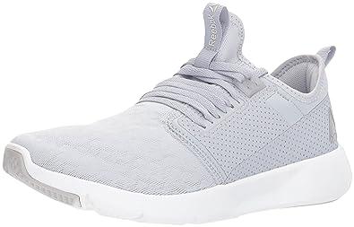 aaace88904b Reebok Women s Plus LITE 2.0 Sneaker GF - Cloud Grey Porcelain Silver  Metallic