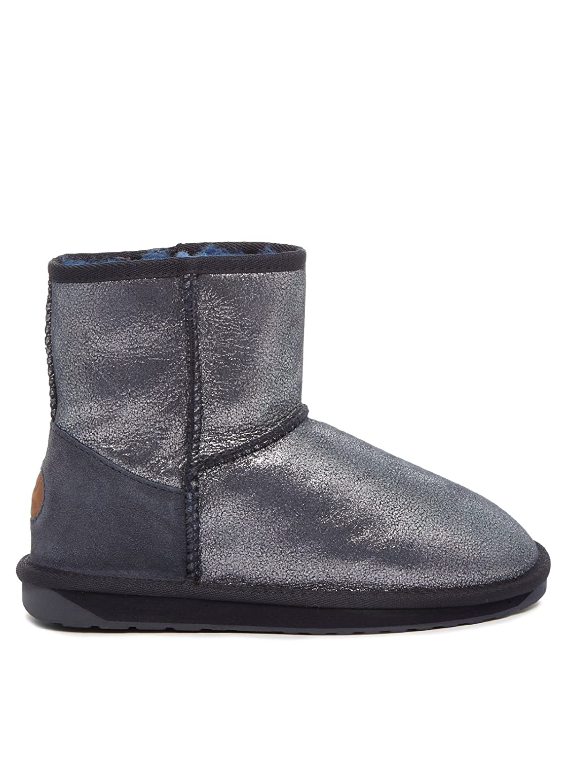 EMU Damen Stinger Metallic Mini Midnight Schneestiefel