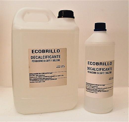 Ecobrillo - Descalcificador para cafeteras - Formato Maxi - 6 L - Antical - Sin residuos Compatible con Nespresso Saeco Lavazza.: Amazon.es: Hogar