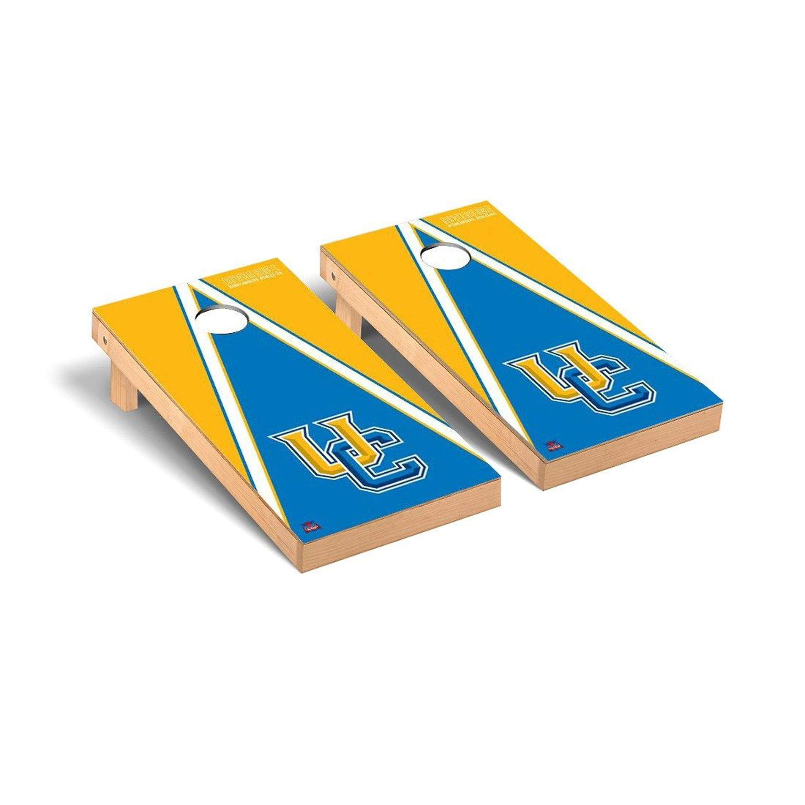 Victory Tailgate Regulation Collegiate NCAA Triangle Series Cornhole Board Set - 2 Boards, 8 Bags - California Riverside Highlanders by Victory Tailgate