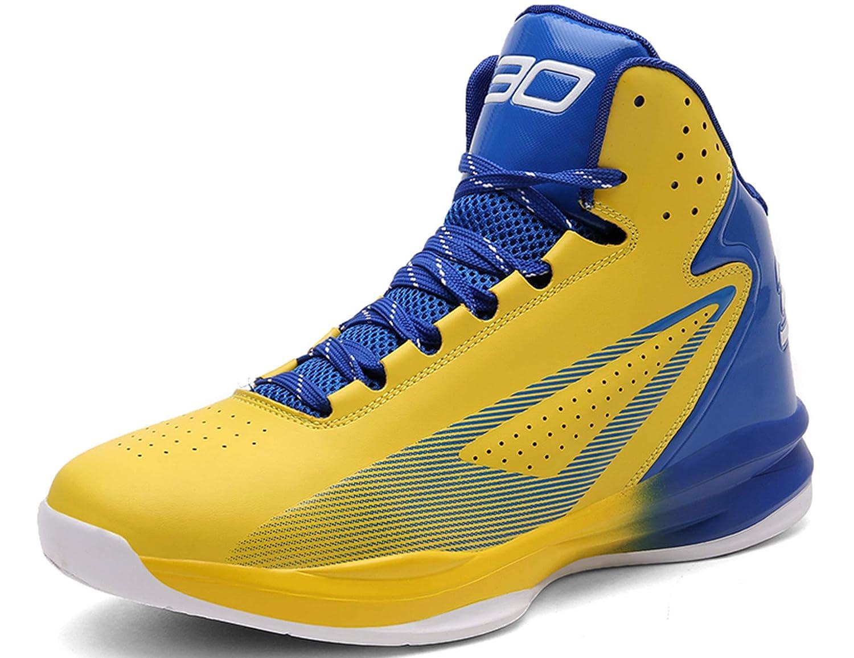 GNEDIAE Hombre Mujer High-Top Zapatos de Baloncesto Calzado Deportivo Al Aire Libre Moda Sneaker Antideslizante Zapatillas de Deporte Ligeros Zapatos ...