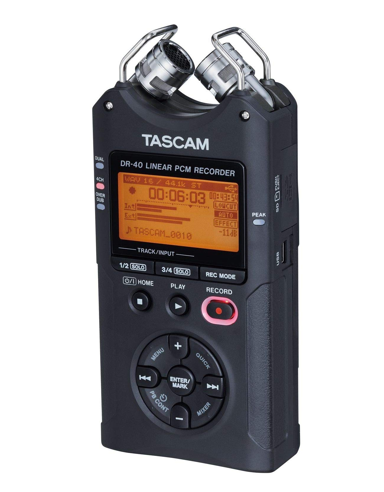 Tascam DR-40 4-Track Portable Digital Audio Recorder by Tascam (Image #11)