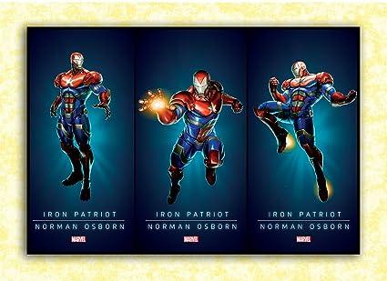 Tamatina Superheroes Poster Iron Man -Fan Art Avengers HD