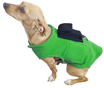 Amazoncom Giant Biogear Pupwarmer Dog Sweater With Doggie Bag