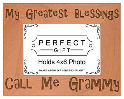 Amazon.com - ThisWear Gift for Grandma Blessings Call Me Grammy ...