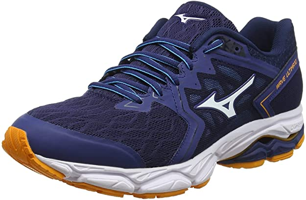 Mizuno Wave Ultima 10, Zapatillas de Running para Hombre, Azul (Estate Blue/White/Flame Orange 01), 39 EU: Amazon.es: Zapatos y complementos