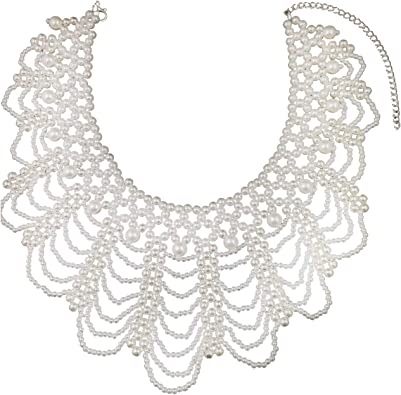 Women Shirt Collars Black//white Detachable Decorative Necklace Elegant Accessory