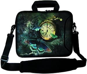 ArcEnCiel Laptop Bag 17 17.3 Inch Briefcase Messenger Shoulder Bag Waterproof Computer Handbag Waterproof Carry Case