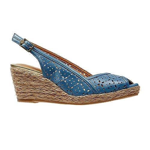 Van DalKatherine - Alpargatas Mujer, Color Azul, Talla 39 1/3: Amazon.es: Zapatos y complementos