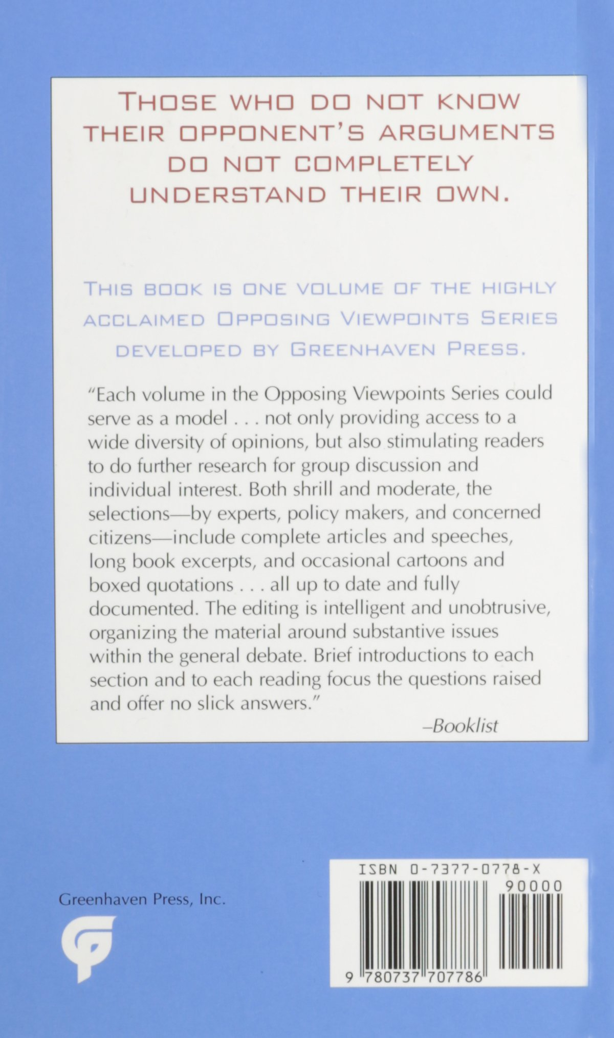 opposing viewpoints series abortion hardcover edition mary e opposing viewpoints series abortion hardcover edition mary e williams 9780737707786 com books
