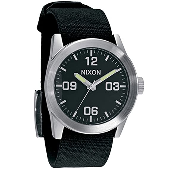 Reloj Nixon The Private A049000 Hombre Negro