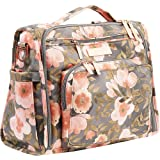 JuJuBe | BFF Convertible Diaper Backpack/Messenger Bag | Pocket Organization with Changing Pad | Whimsical Whisper