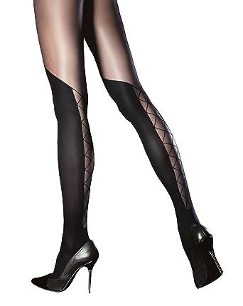 Collant fantaisie avec motif laçage  Amazon.fr  Vêtements et accessoires 1fcb864f30b