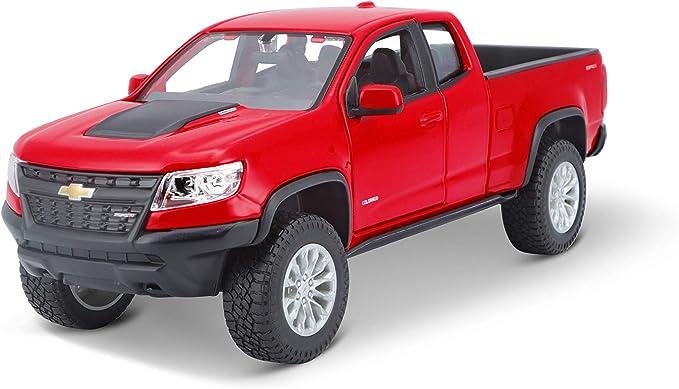Maisto 2017 Chevrolet Colorado Zr2 31517 Rot 1 24 Die Cast Amazon De Spielzeug