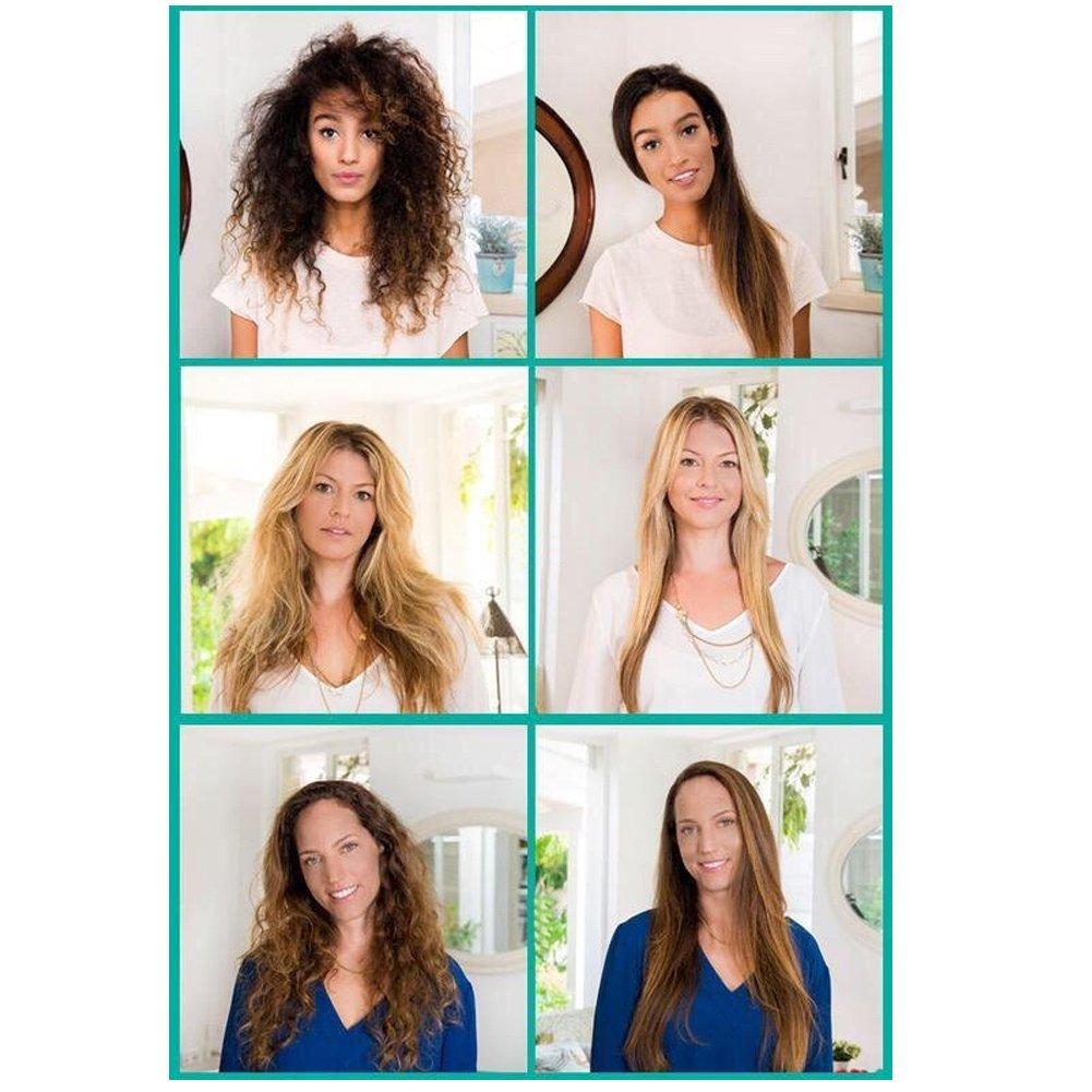 Amazoncom MOKOQI Hair Straightener Pro Natural Silky Straight
