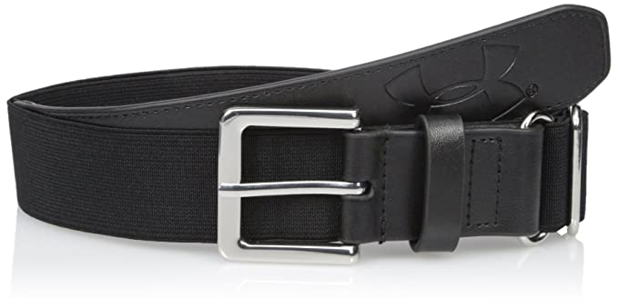 Under Armour boys Baseball Belt Black (001)/Black One Size Fits All
