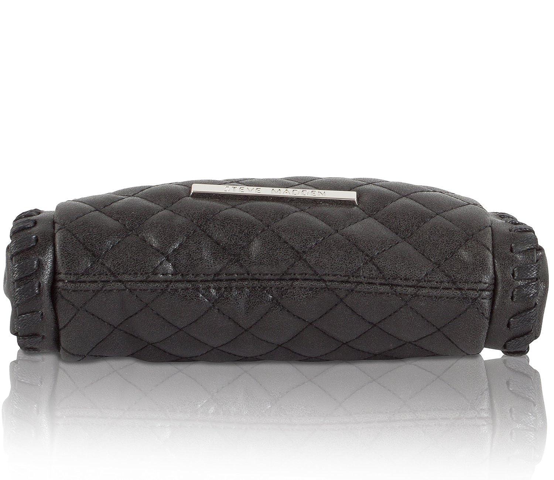 3f493b3a2e8 Amazon.com: Steve Madden Women's Btartt Quilted Crossbody Bag - Black:  Casual 21