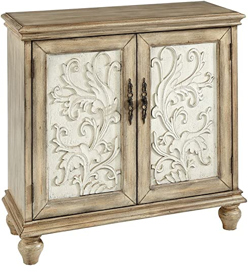 Madison Park Driscoll 2-Door Cabinet, Reclaimed Natural