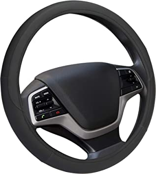 Car Steering Wheel Cover Breathable Non-Slip Sweat Universal 15 inch