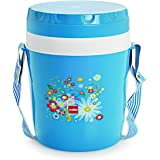 Cello Micra Insulated 3 Container Lunch Carrier, Blue