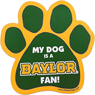 product image for NCAA Baylor Bears Paw Print Car Magnet