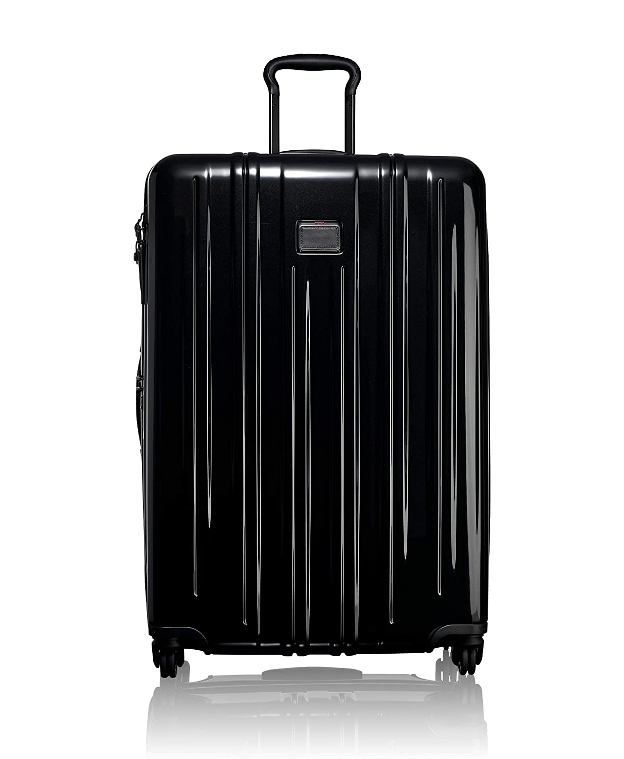 TUMI - V3 Extended Trip Expandable Packing Case Large Suitcase - Hardside Luggage for Men and Women - Black