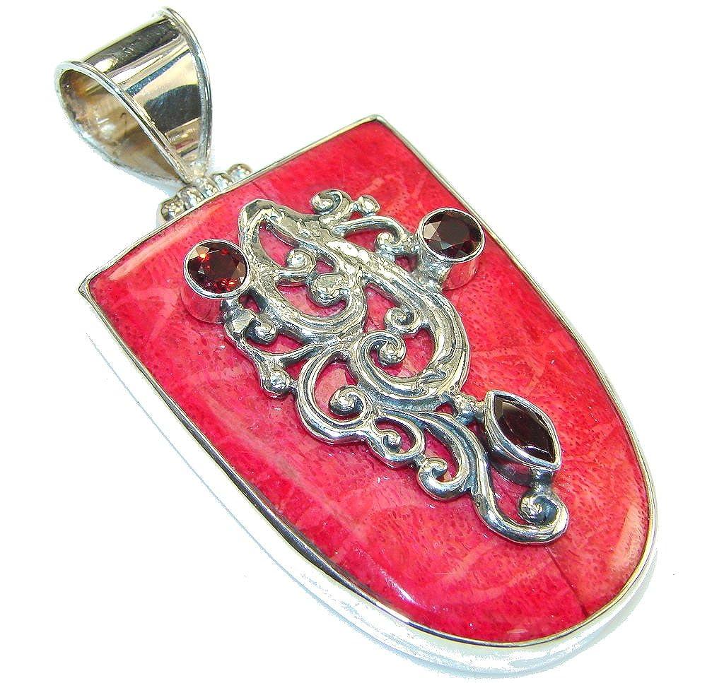 Mookaite Women 925 Sterling Silver Pendant FREE GIFT BOX