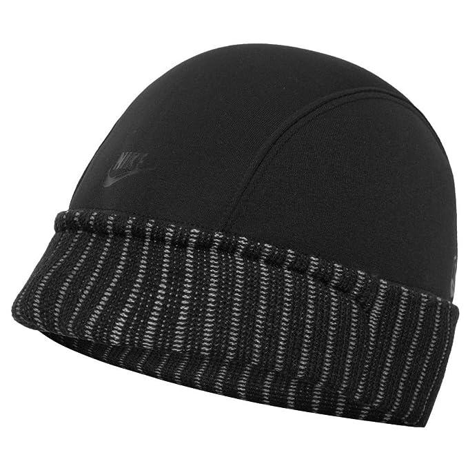 Nike - Gorro de Punto - para Hombre Negro Negro Talla única  Amazon.es  Ropa  y accesorios 64f04d8dc80