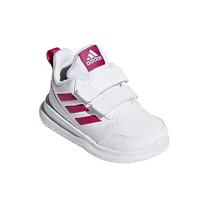 9eac36bfe1 adidas Unisex Babies' Altarun Cf I Gymnastics Shoes, Real Magenta/FTWR  White,