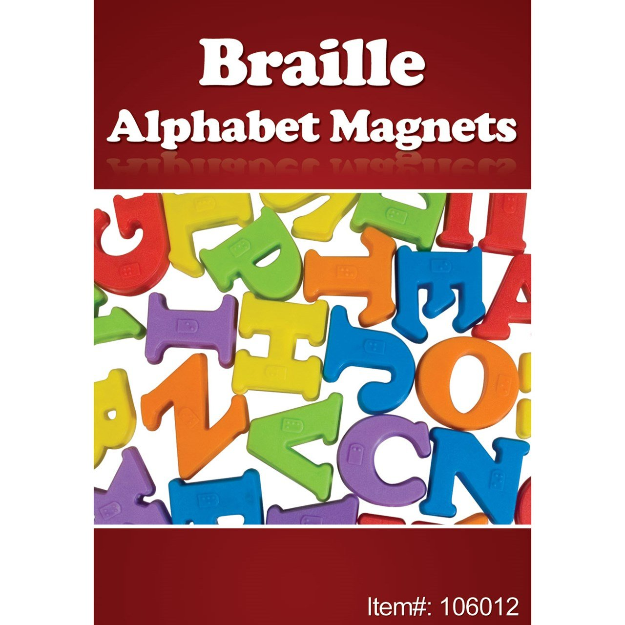 Design Alphabet Magnets amazon com braille alphabet magnets 26 upper case letters health personal care